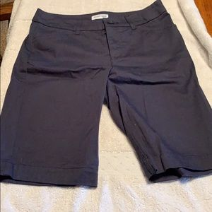 NWOT Ladies size 6 Saint Johns Bay Blue Shorts